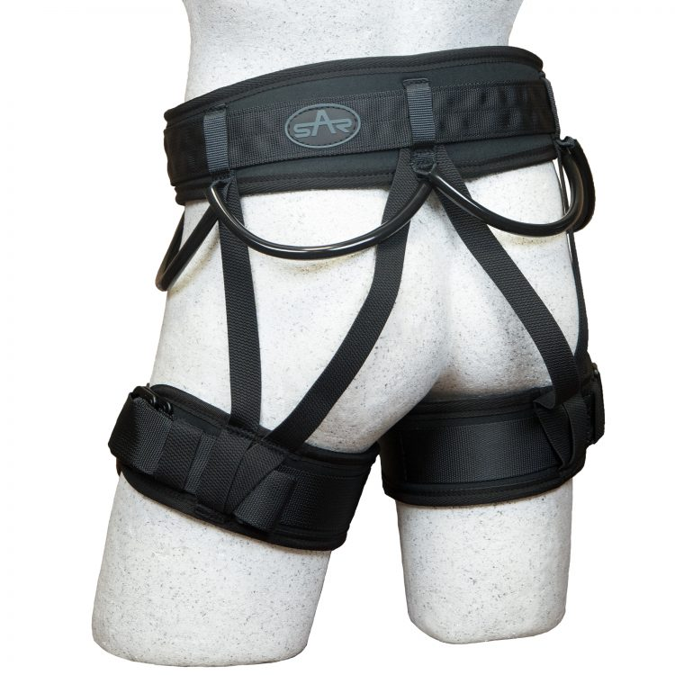Back of Hawk Sit Harness