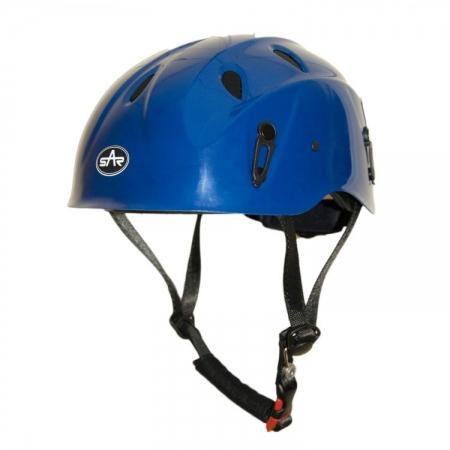 Blue Industrial Helmet