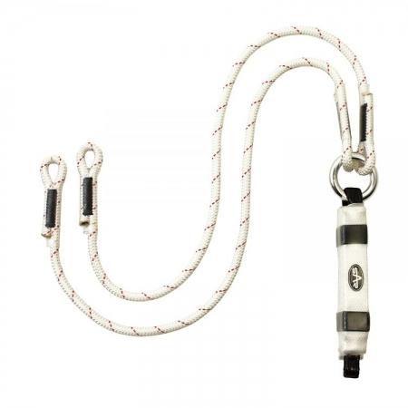Twin Shock Absorbing Rope Lanyard