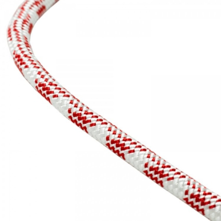 White & Red 11mm Rescue & Access Rope