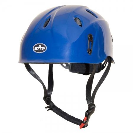 Blue Climbing Helmet