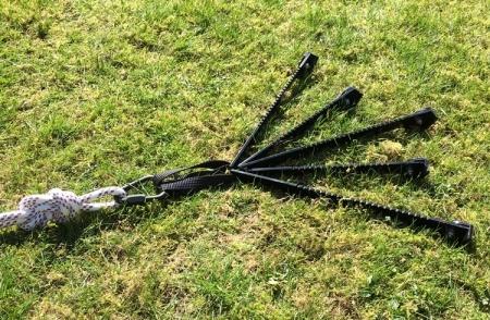 Ground Spider In Use