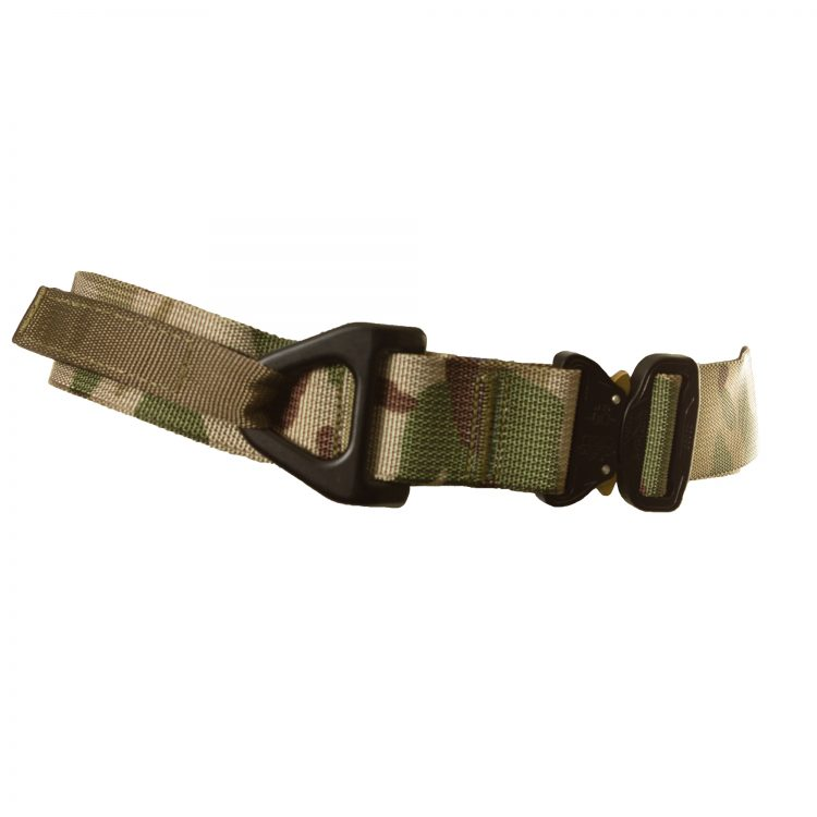 Camouflage Riggers Belt with D